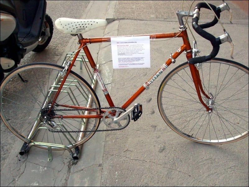 Primera bici de carretera liberada en BKC